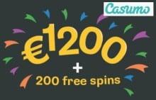 Casumo Casino free spins