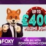 Foxy Casino £400 gratis   200% bonus   free spins