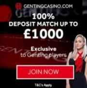 Genting Casino free bonus