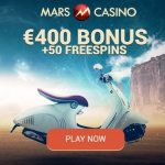 MARS CASINO – 50 free spins and €400 bonus – bitcoin casino