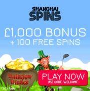 Shanghai Spins Casino free bonus