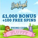 SLOTS ANGEL – 100 free spins and £1000 casino bonus – gratis!