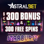 ASTRALBET – €300 casino bonus and 300 free spins – Big wins!