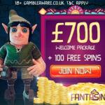Fantasino Casino (review) 100 free spins & €700 welcome bonus