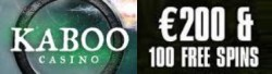 Kaboo Casino 100% up to €200 bonus and 100 free spins