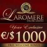 LaRomere Casino – 375% up to $/€1,000 bonus & free spins – bitcoins!