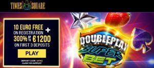 Time Suqare Casino exclusive bonus
