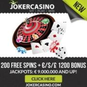 Joker Casino banner 250x250