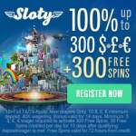 SLOTY CASINO – 300 free spins & 200% up to €1,500 – exclusive bonus!