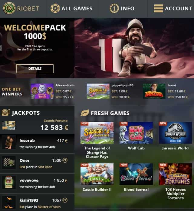 Rio bet casino play free slotmachines