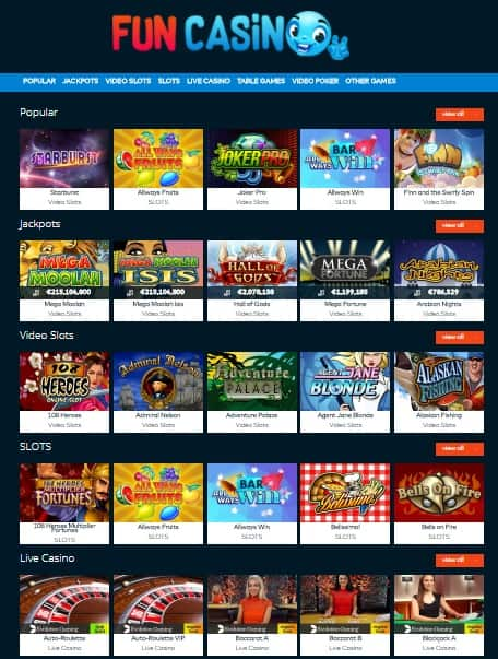 FUN Casino Online & Mobile