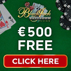 Blackjack Ballroom Casino 50 free spins + 175% up to €/$500 bonus