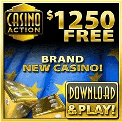 Casino Action 100 free spins   325% up to €/$1200 free bonus