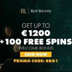 Roy Richie Casino €1200 & 100 free spins – exclusive bonus codes!