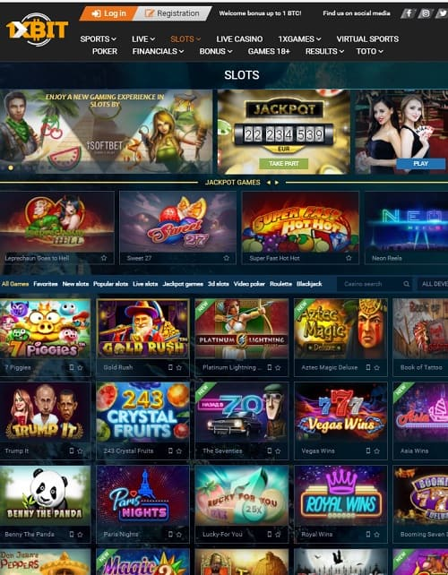 1XBET Casino Online and Mobile