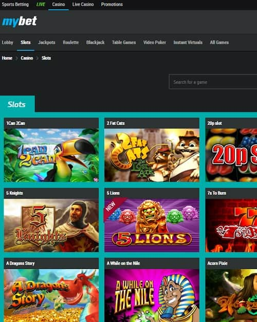 My Bet Casino free spins and free bets