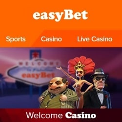 Easybet Casino & Sportsbook - 250% up to €700 bonus & free bets