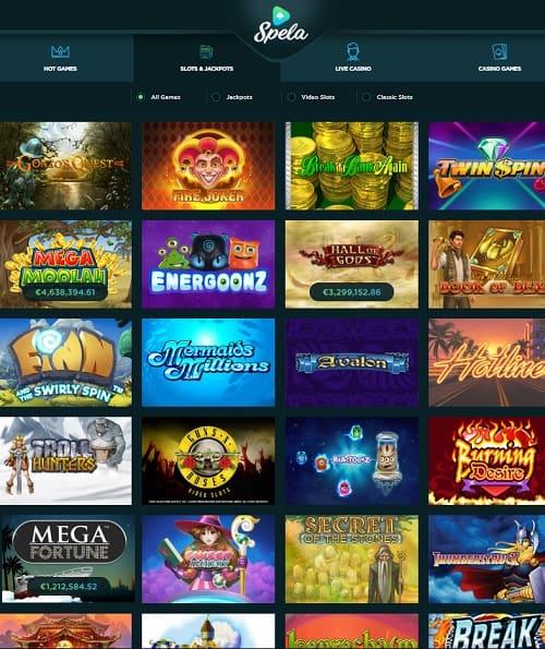 Spela.com Casino Review