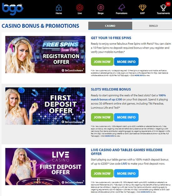 Bgo Casino UK review