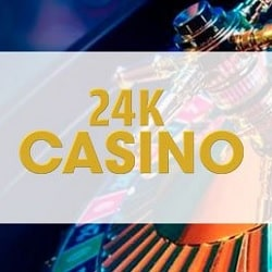 24K Casino 100% up to €300 bonus - cryptocurrencies accepted