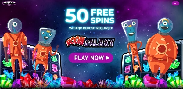 Jackpot City Casino 50 free spins bonus
