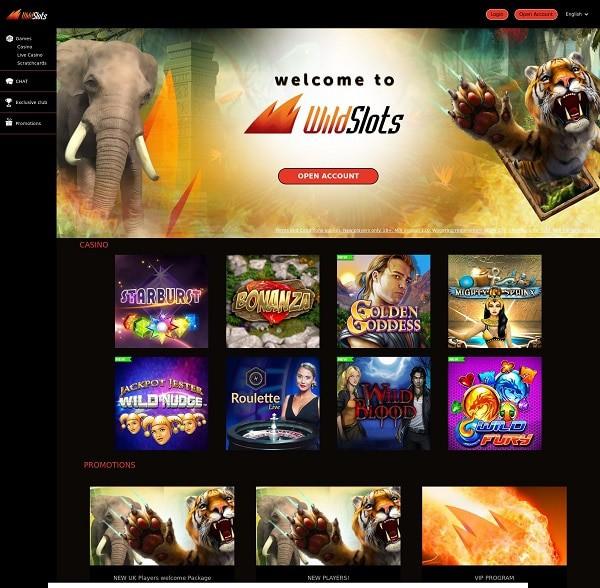 Wildslots Casino Online Free Spins Bonus