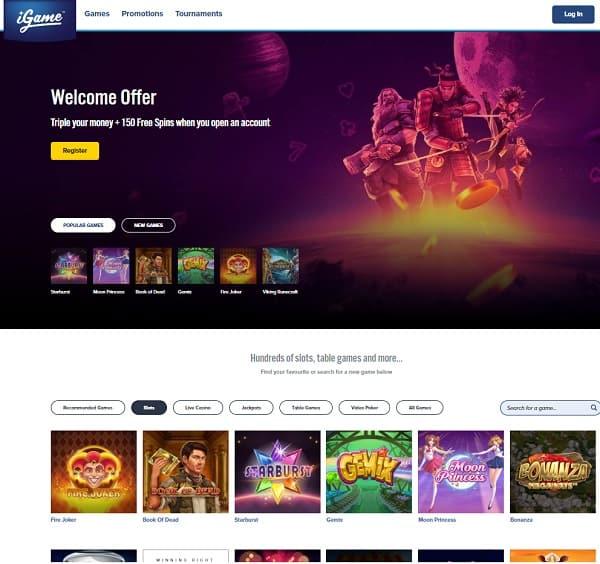 iGame Casino free bonuses