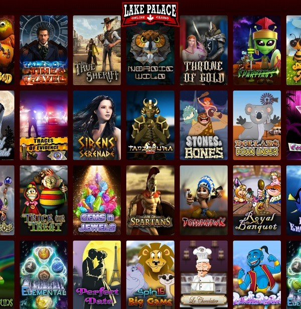 Lake Palace Online Casino Review