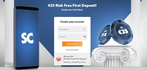 Scatters.com 25 EUR free bonus