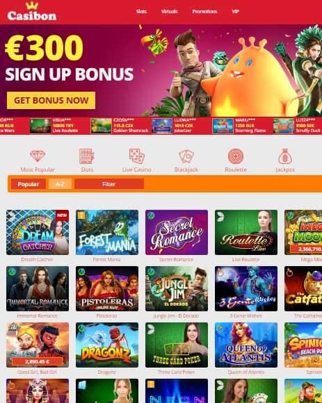 Casibon Casino Review