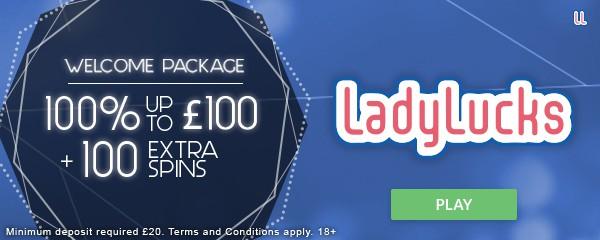 Lady Lucks free spins bonus