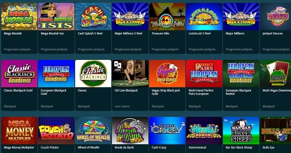 Dream Bingo Casino Games