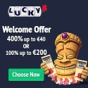 Luck8 Casino 20 free spins no deposit bonus