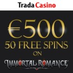 Trada Casino Review: 50 free spins and 225% up to €500 bonus
