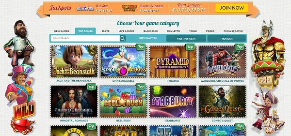 Spin Station Casino Games and Software