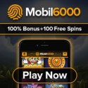 Mobil6000 Casino | 100 free spins and 100% bonus | review