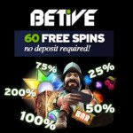 Betive Casino – 60 no deposit free spins and 200% welcome bonus