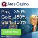 Ares Casino | 350% up to €1750 bonus and free spins | review