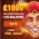 InstaCasino | 100 free spins and £1000 free money | no deposit bonus