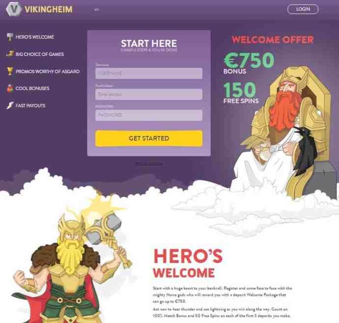 Viking Heim Casino Review