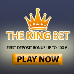 TheKingBet Casino | 100% up to €400 free cash + 165 free spin bonus