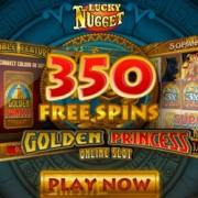 Lucky Nugget Casino banner 250 x 250