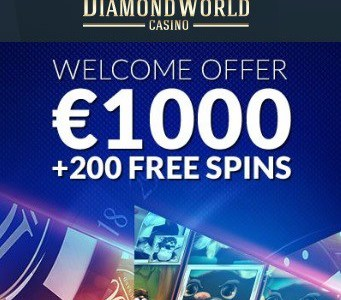 Diamond World Casino banner 250x250
