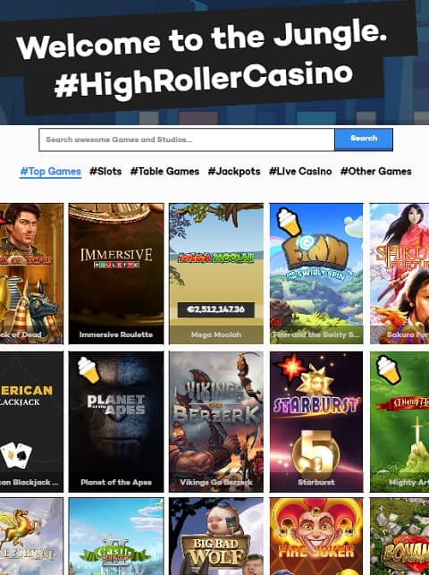 Highroller.com Casino Review