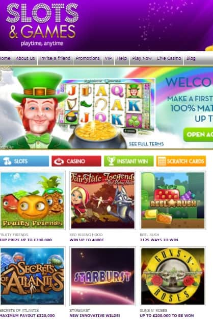 Slots And Games Casino Review