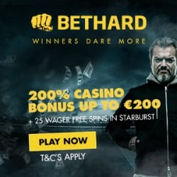 Bethard Casino $750 bonus and 700 free spins