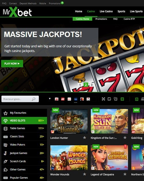 Mr X Bet Casino Review