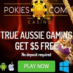 Pokies Casino 30 free spins and €$£ 800 exclusive free bonus