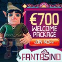 Fantasino Casino 100 free spins and $700 welcome bonus