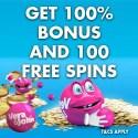 Vera John Casino 100 free spins and 100% welcome bonus